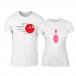 Тениски за двойки Bowling бели TMN-CP-225 2