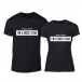 Тениски за двойки Rockstar черни TMN-CP-214 2