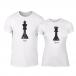Тениски за двойки Chess бели TMN-CP-111 2