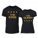 Тениски за двойки Royal Stars черни TMN-CP-255 2