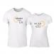 Тениски за двойки Sun & Moon бели TMN-CP-227 2