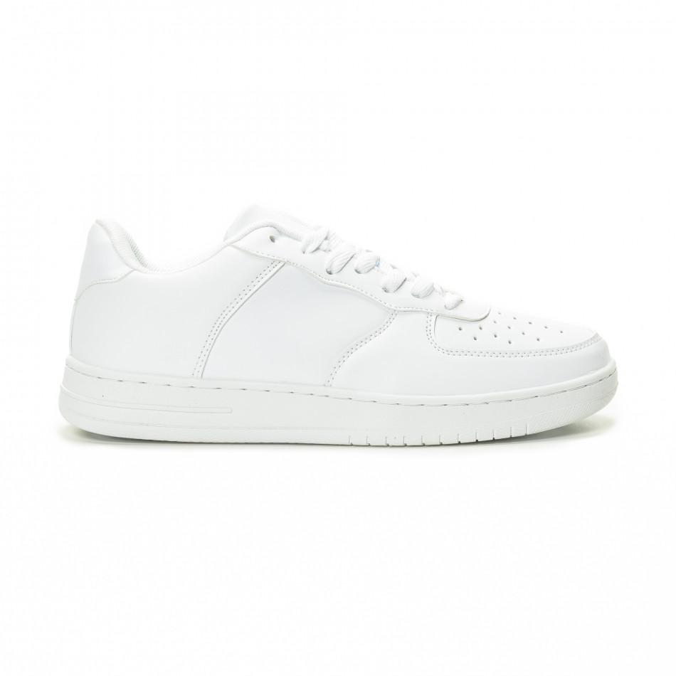 3fc7dc231d2 Fashionmix Ανδρικά λευκά sneakers skater μοντέλο