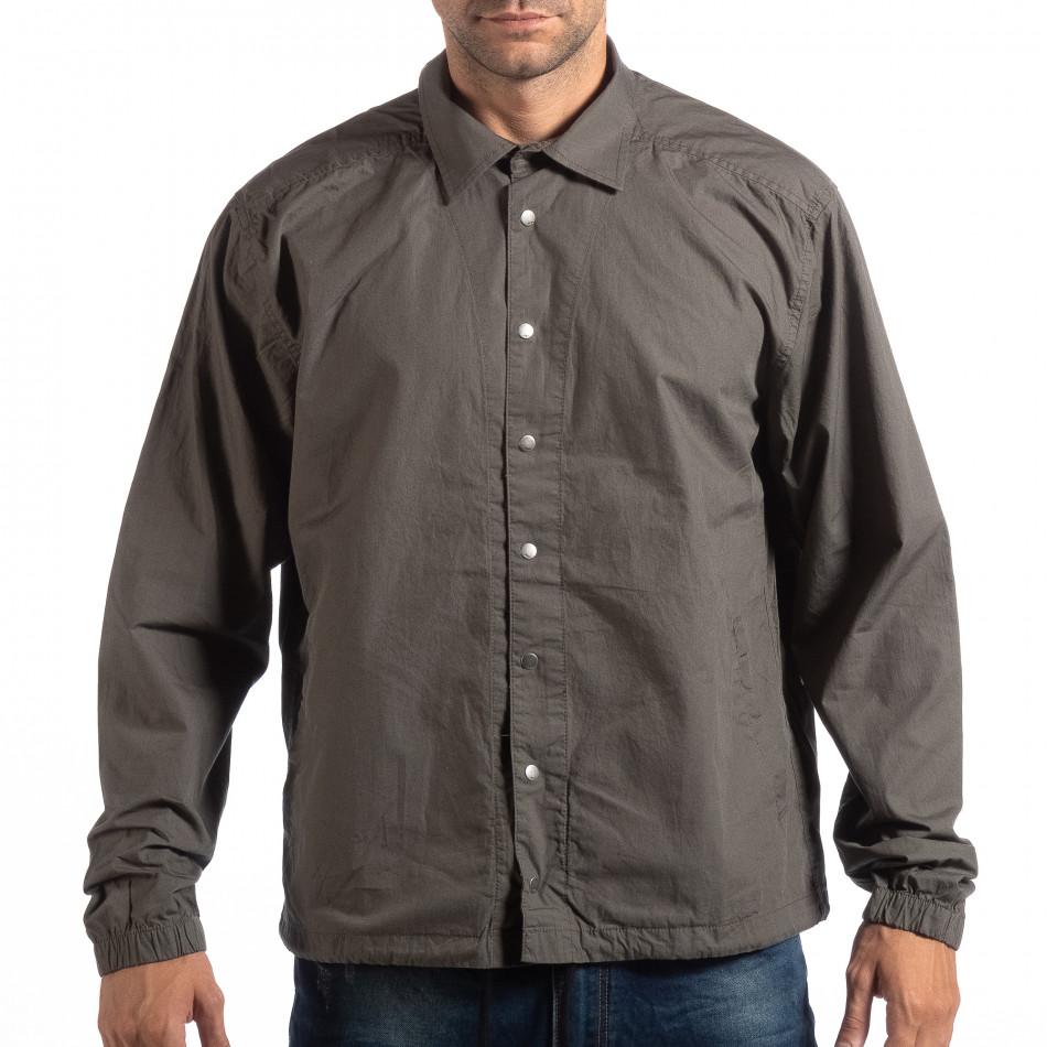 Ανδρικό πράσινο πουκάμισο RESERVED c13facaaf10