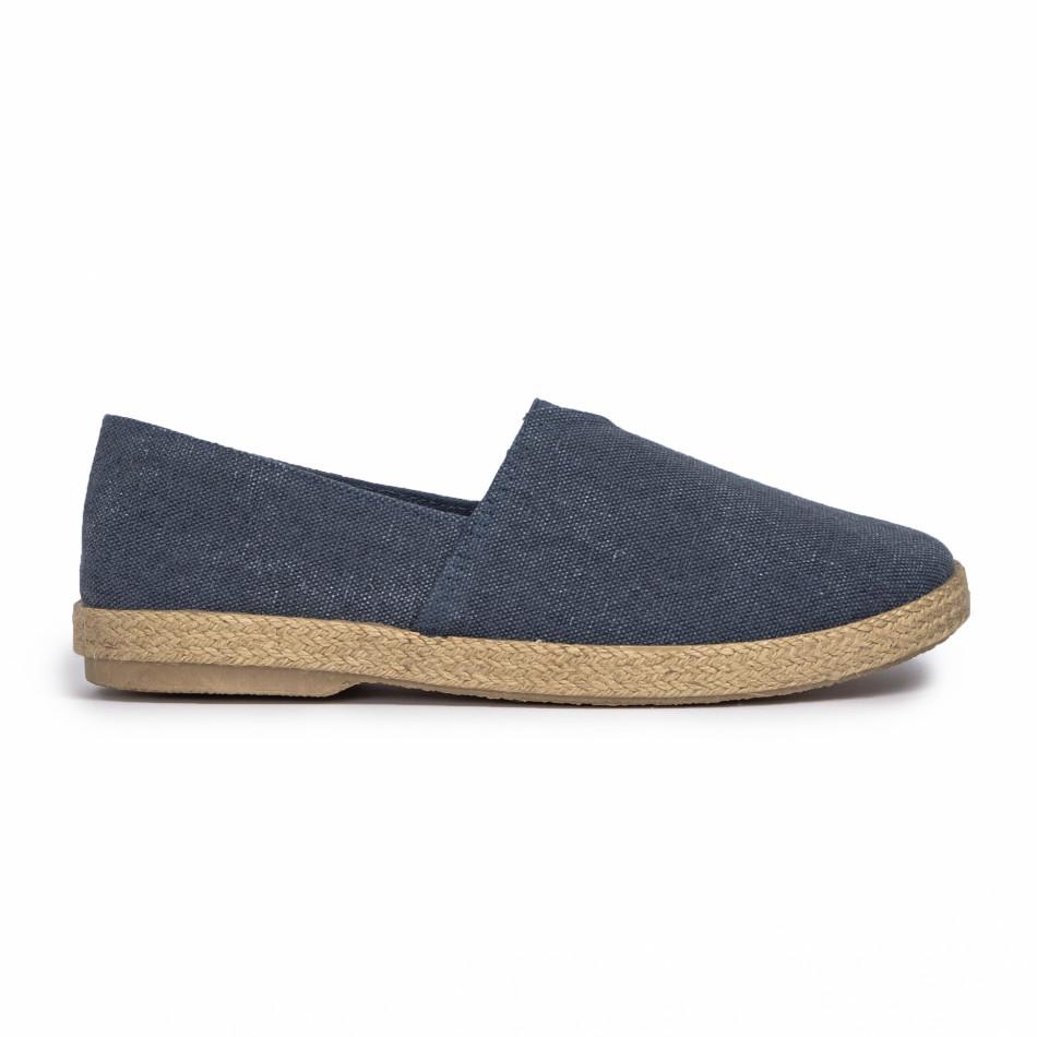Ανδρικές γαλάζιες εσπαντρίγιες Buondi & Shoes
