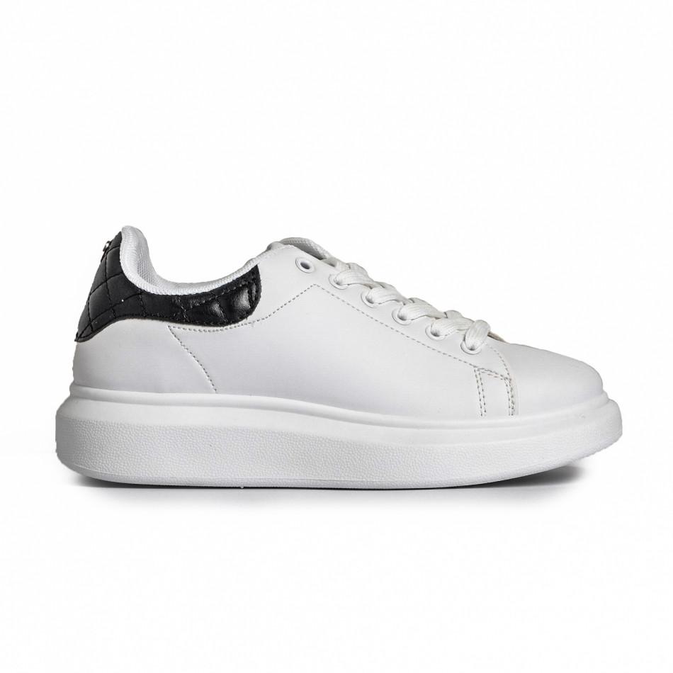 Γυναικεία λευκά αθλητικά παπούτσια FM