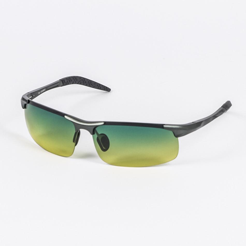 Ανδρικά πράσινα γυαλιά ηλίου FM