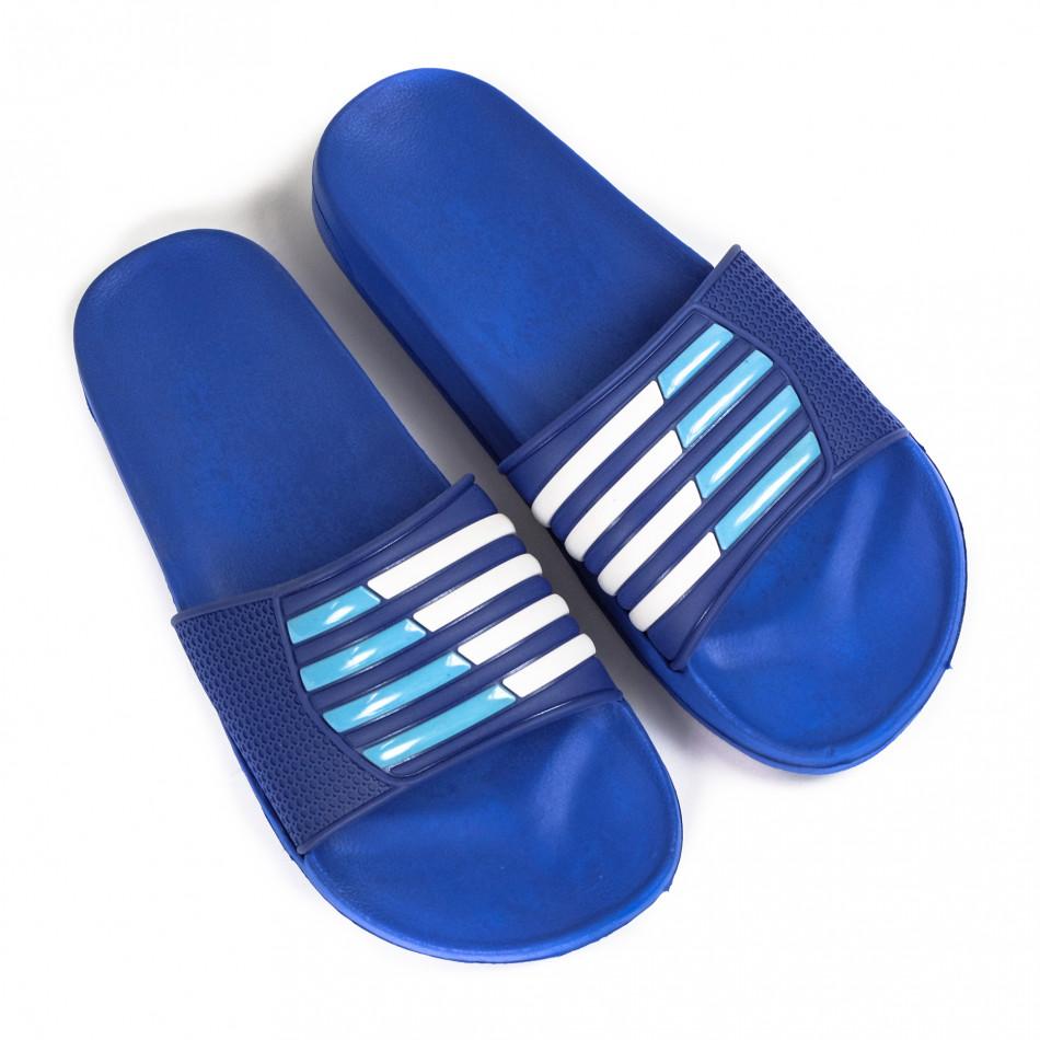 Ανδρικές μπλε σαγιονάρες Jomix
