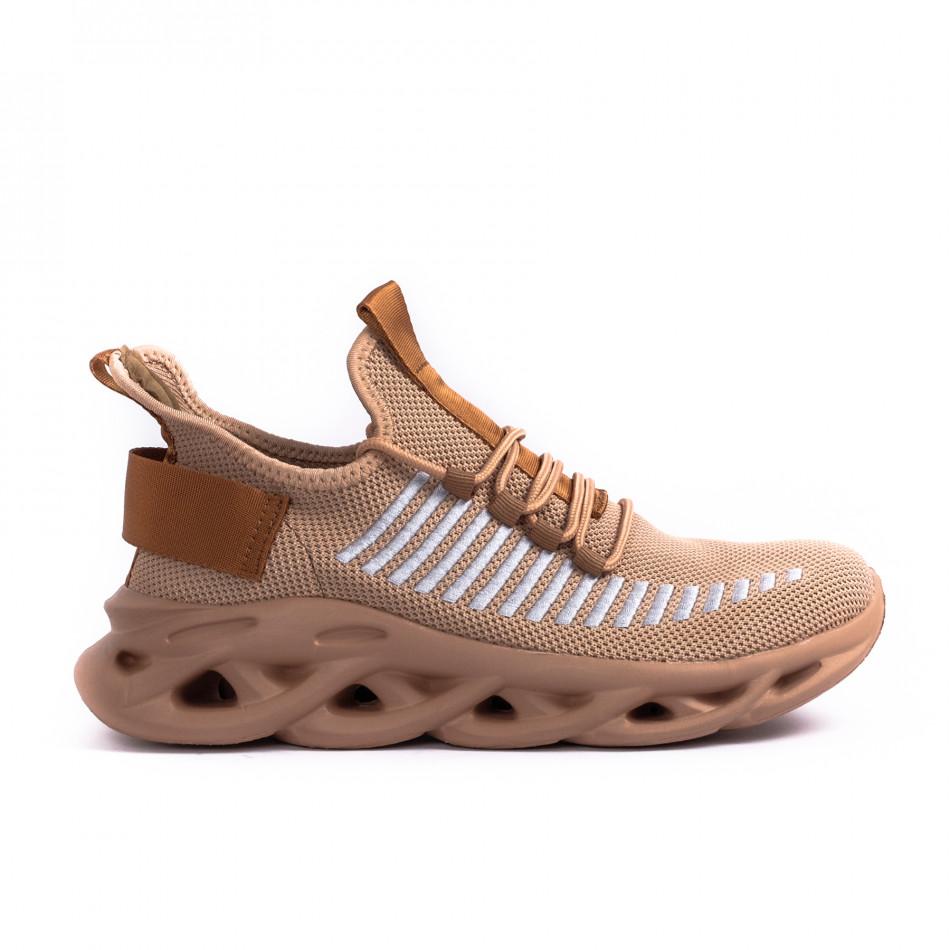 Ανδρικά καφέ αθλητικά παπούτσια Kiss GoGo