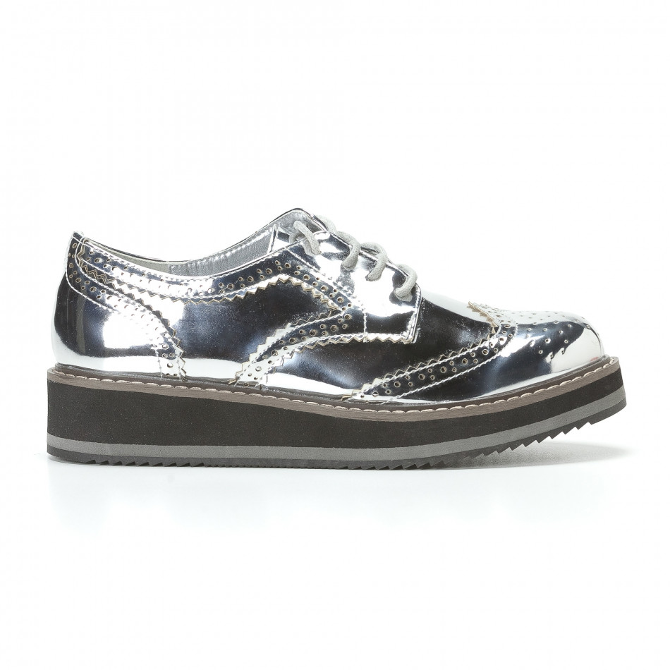Γυναικεία γκρι παπουτσια Sweet Shoes