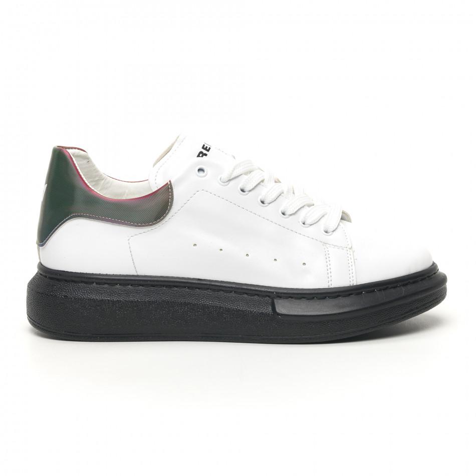 Ανδρικά λευκά sneakers Breezy