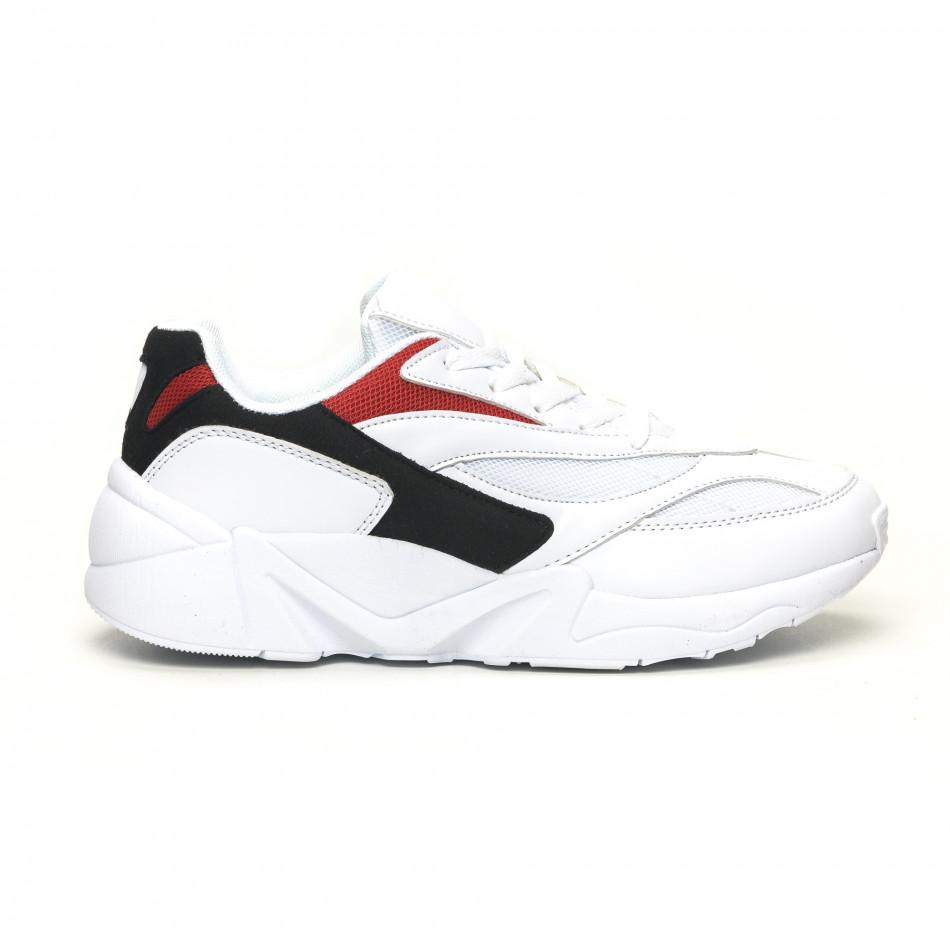 Ανδρικά κίτρινα αθλητικά παπούτσια FM