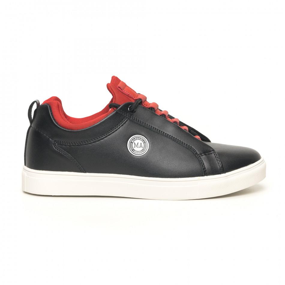 Ανδρικά μαύρα αθλητικά παπούτσια Marshall