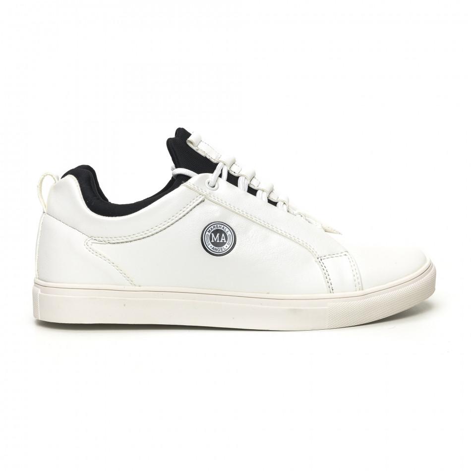 Ανδρικά λευκά αθλητικά παπούτσια Marshall