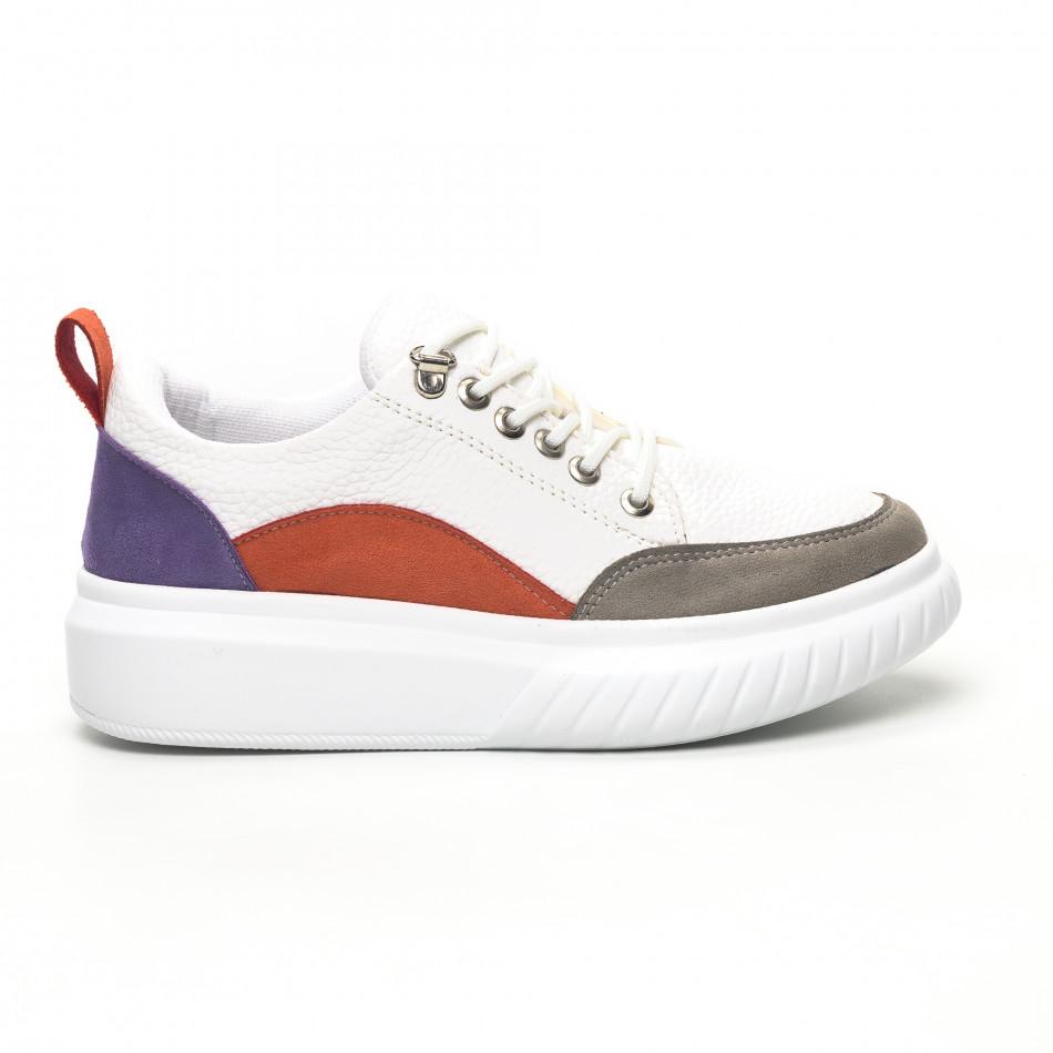 Γυναικεία πολύχρωμα sneakers Keceli