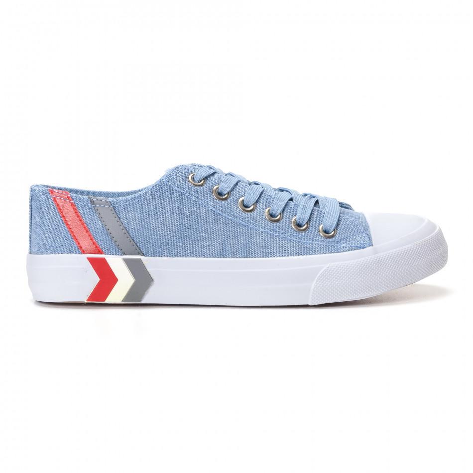 Ανδρικά γαλάζια sneakers Mondo Naturale