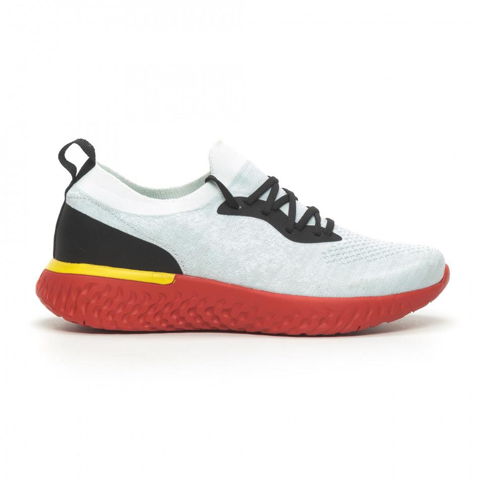 Ανδρικά γκρι αθλητικά παπούτσια Reeca