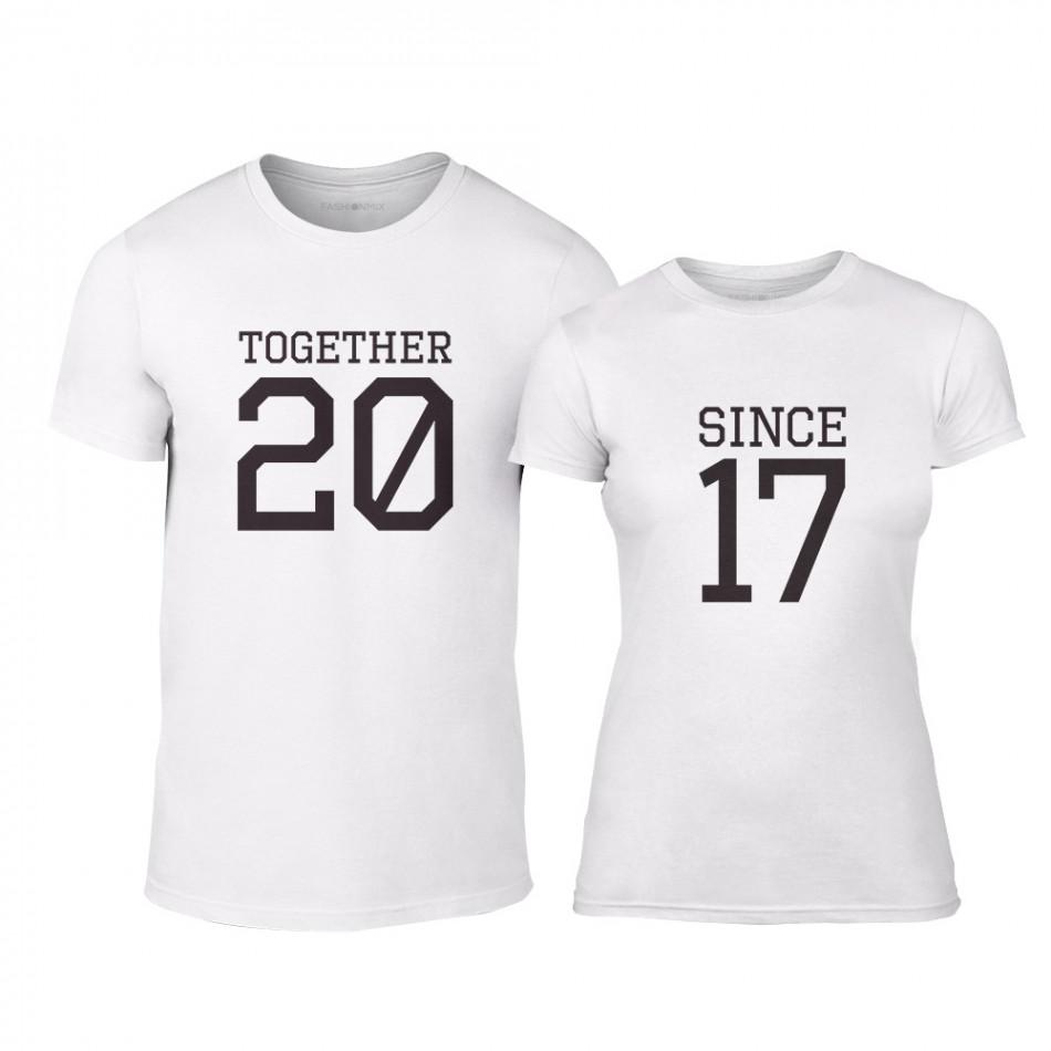Κοντομάνικα με εκτυπώσεις Ανδρικά Μπλουζες για ζευγάρια  1b51de543c0