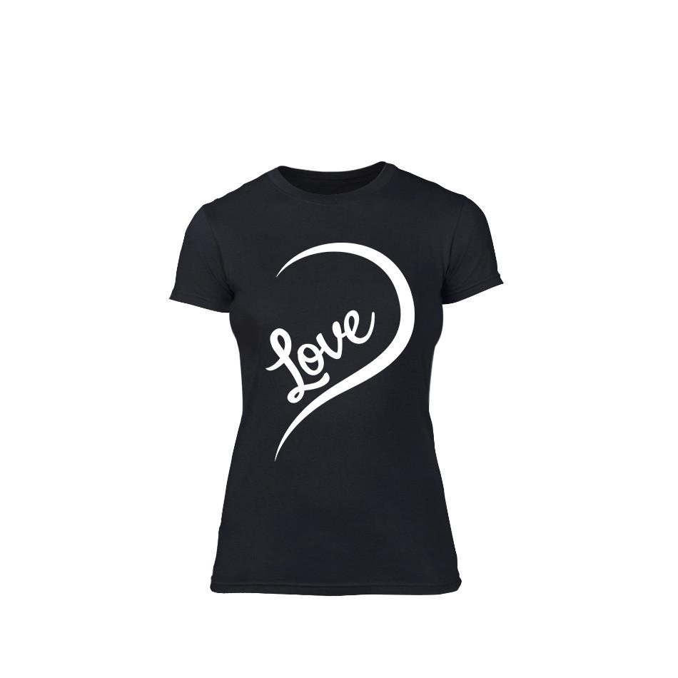 Γυναικεία Μπλούζα One Love μαύρο Χρώμα Μέγεθος S