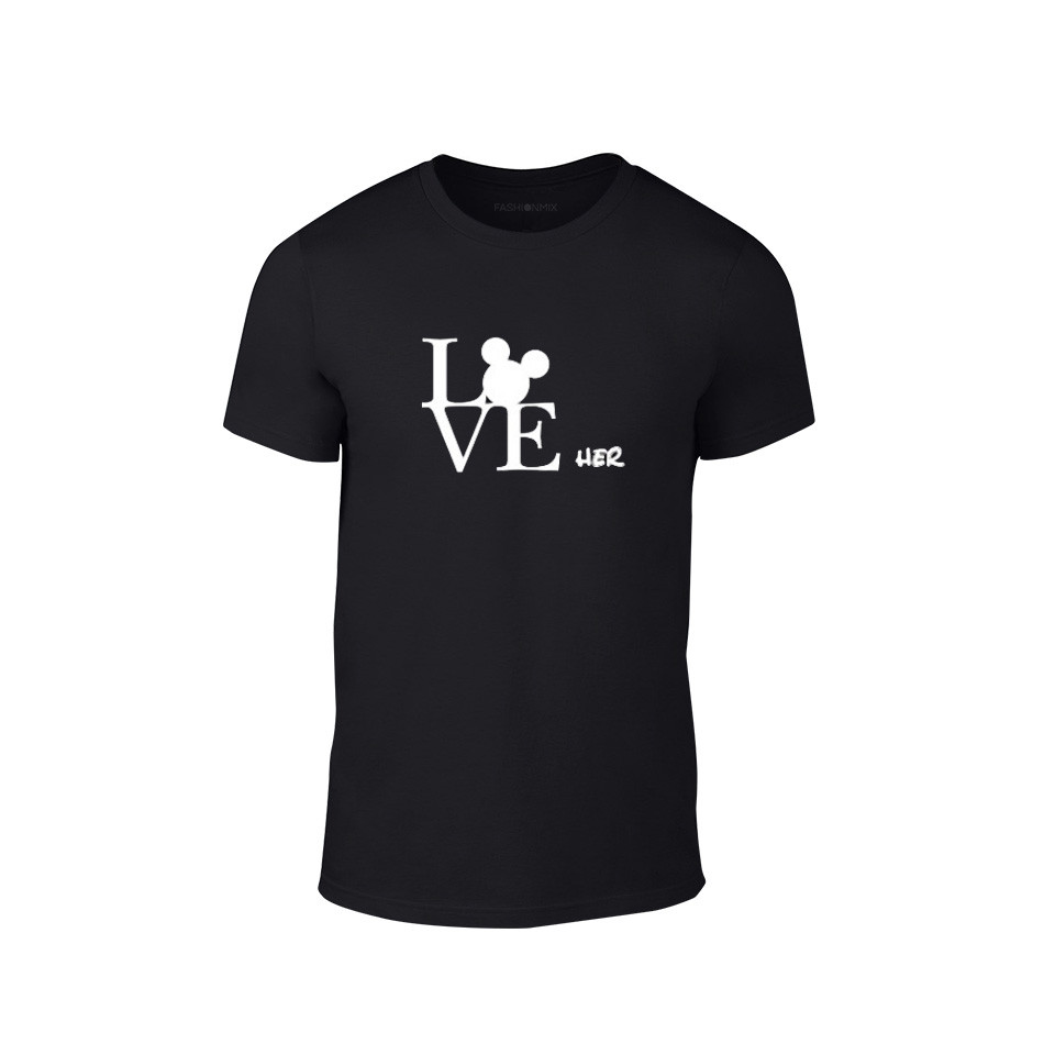2edf525f961b Κοντομάνικη μπλούζα Love Her μαύρο Χρώμα Μέγεθος S 72065