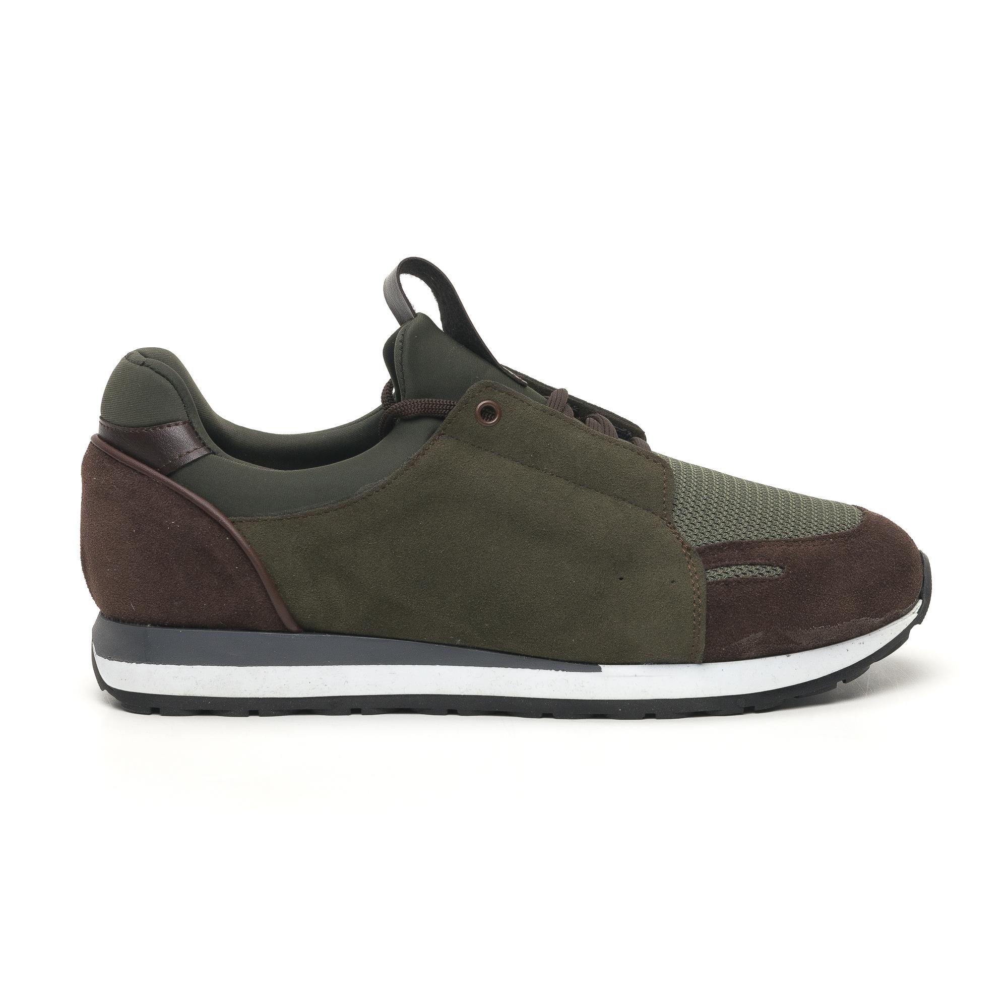 Ανδρικά πράσινα αθλητικά παπούτσια FM