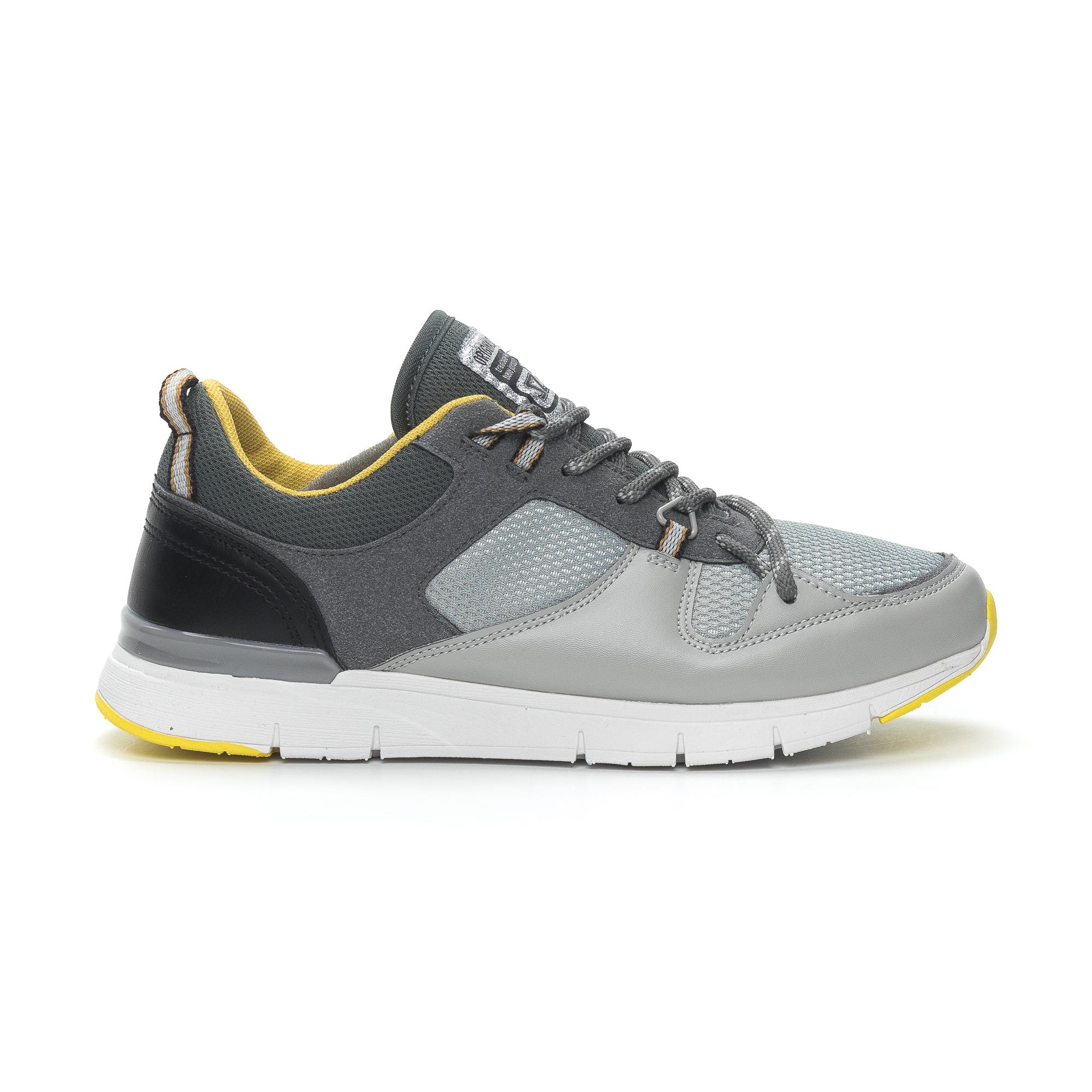 Ανδρικά γκρι αθλητικά παπούτσια Montefiori