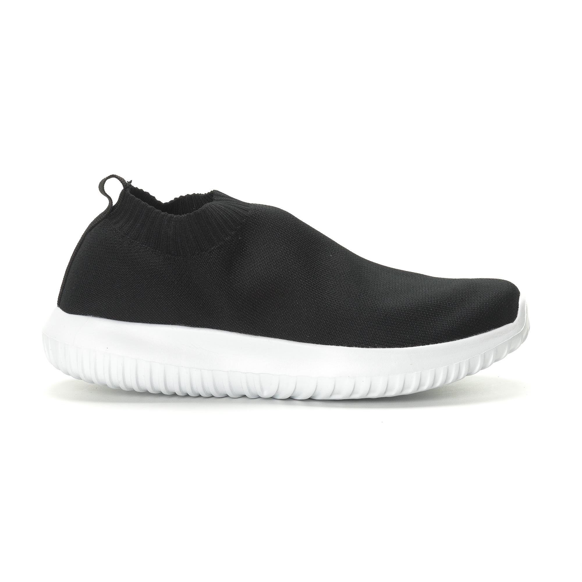 d9f0f982ac3 Ανδρικά χαμηλά μαύρα αθλητικά παπούτσια κάλτσα