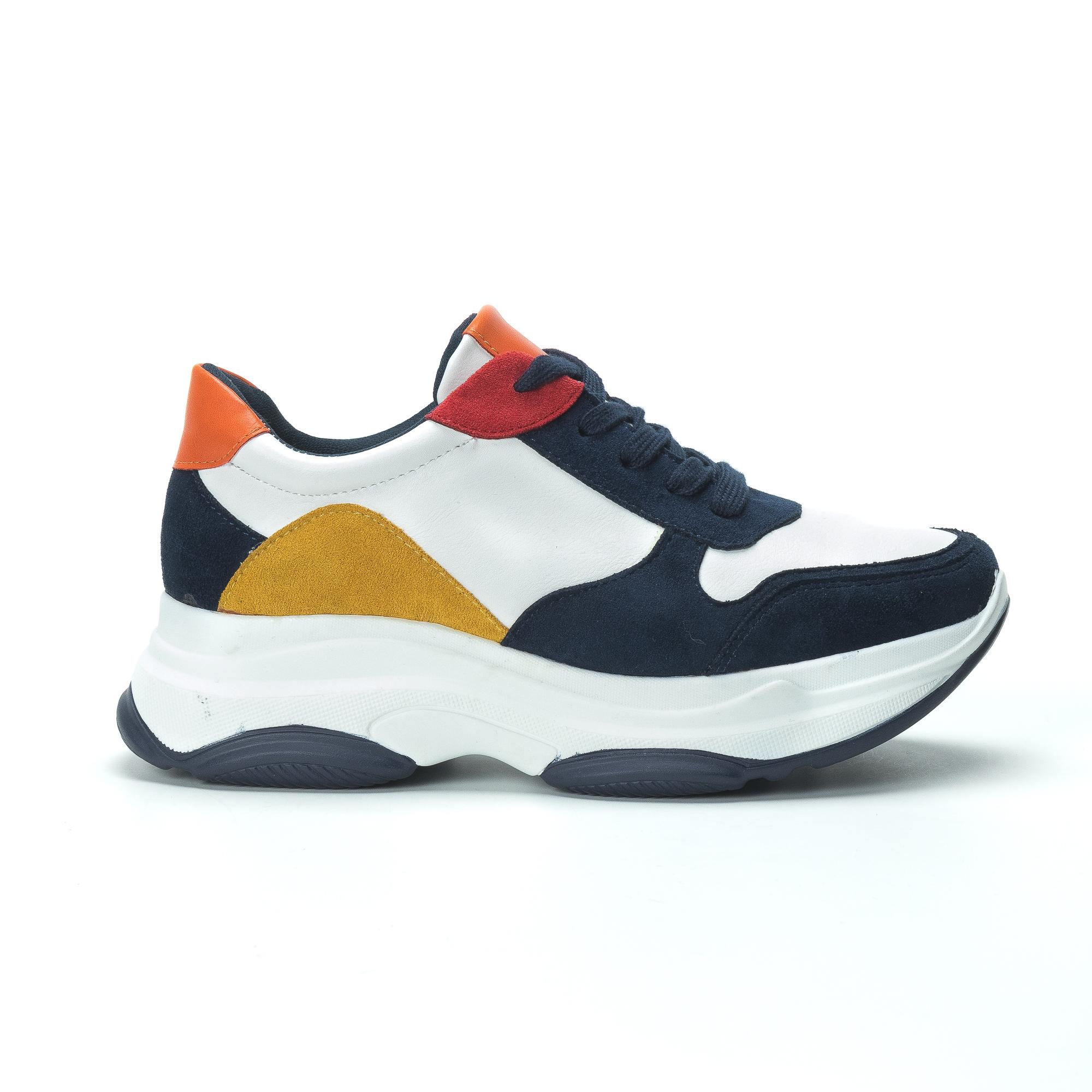 Γυναικεία πολύχρωμα sneakers με πλατφόρμα b1e928d817a