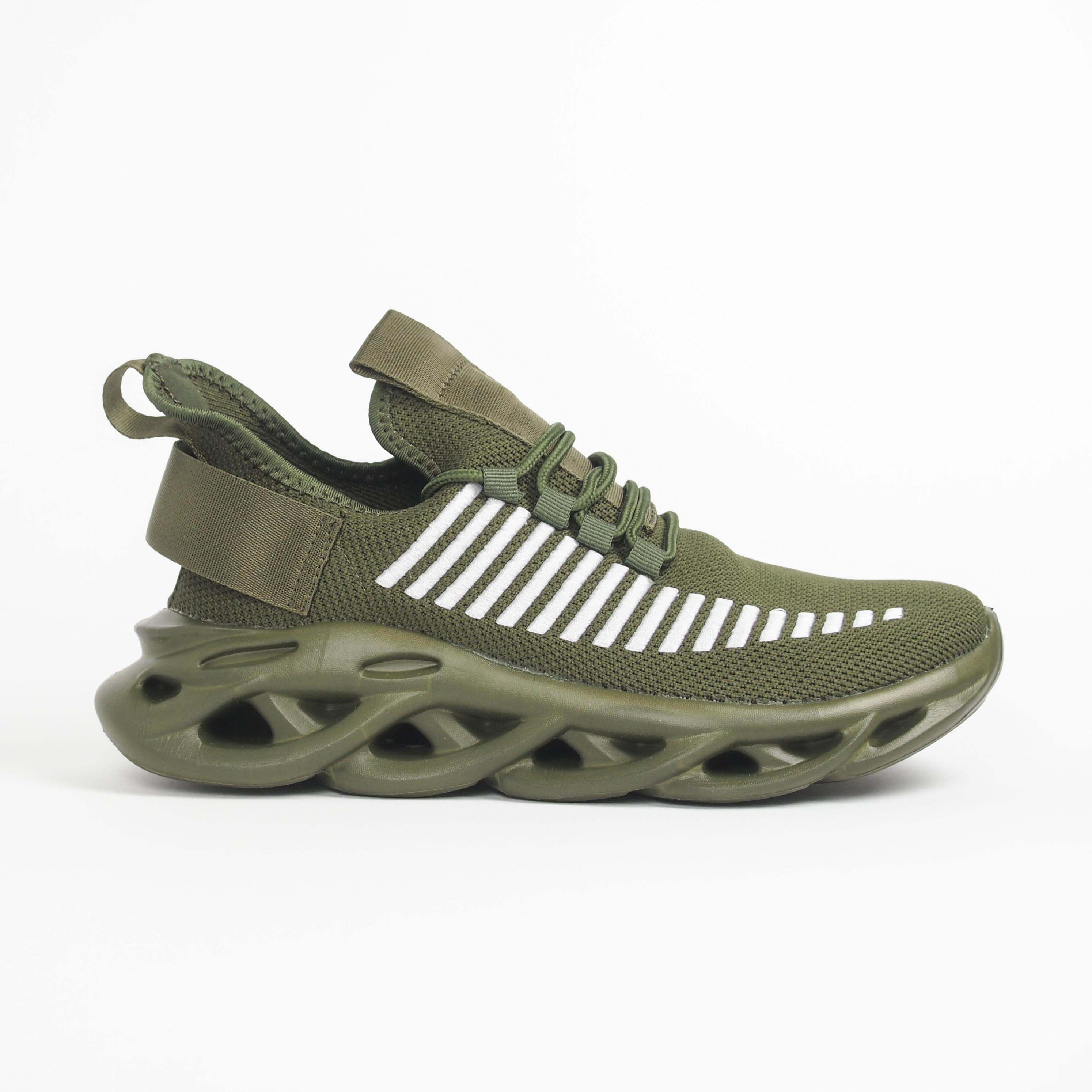 Ανδρικά military πράσινα αθλητικά παπούτσια Rogue