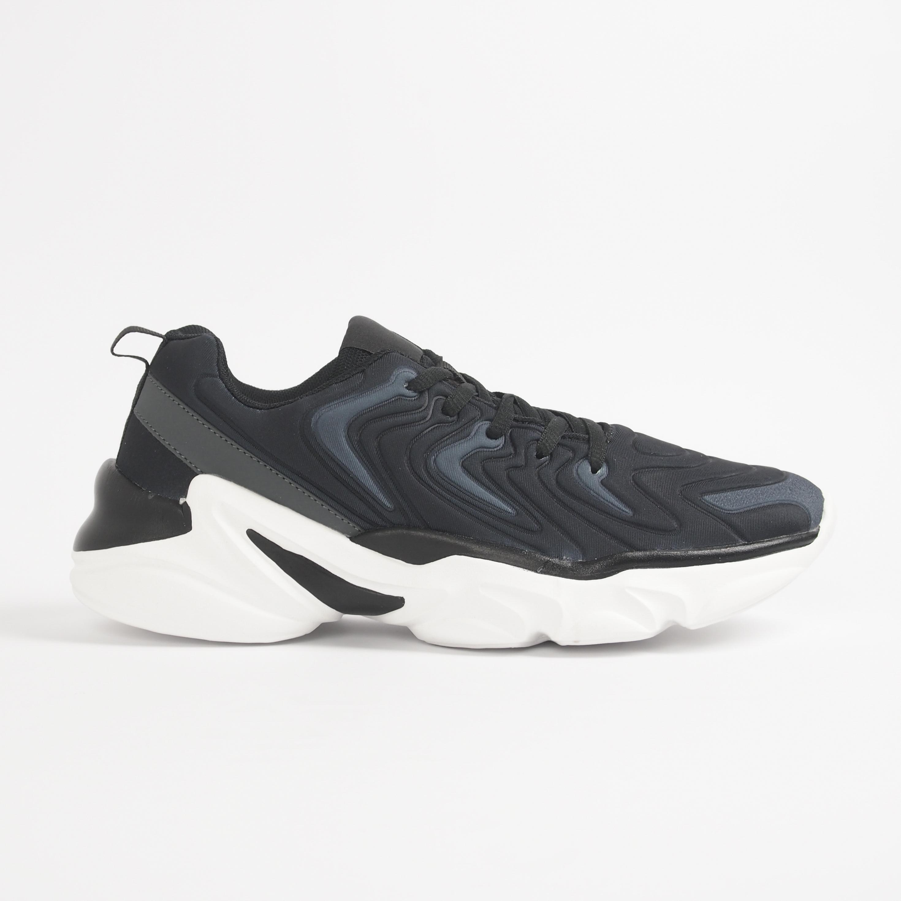 Ανδρικά μαύρα αθλητικά παπούτσια