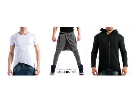 Асиметричните дрехи - основна тенденция в мъжката мода за сезон пролет/лято 2015
