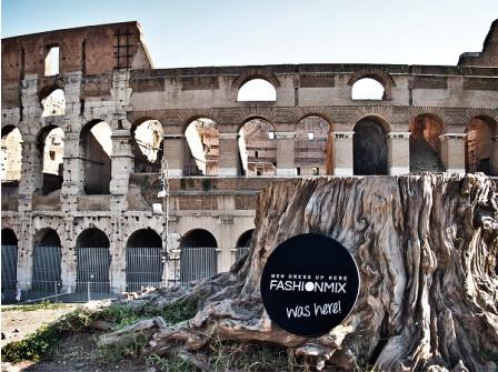 Всички пътища водят Fashionmix към Рим