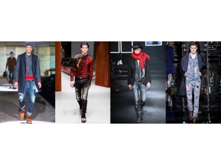 Мъжките дънки със скъсвания остават топ тренд по света и във FASHIONMIX
