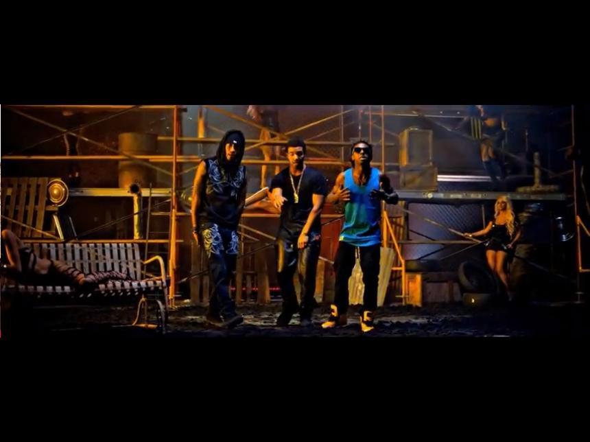 Рапърите Lil Wayne, Drake и Future със супер яки дрешки в общия си клип