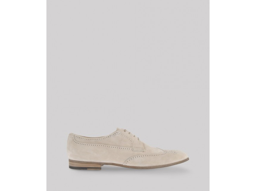 Мъжки летни обувки от велур Giorgio Armani