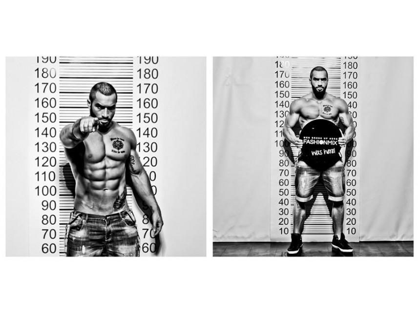 Лазар Ангелов в пролетно-лятната фотосесия Fashion Criminal на онлайн магазин FASHIONMIX