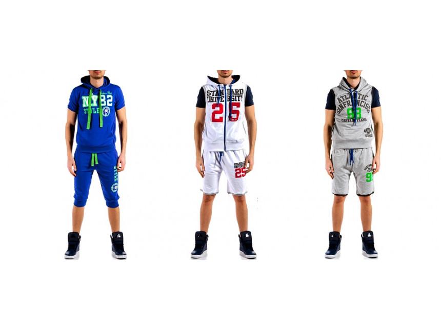 Мъжки спортен комплект и за през лятото е вече мисия възможна