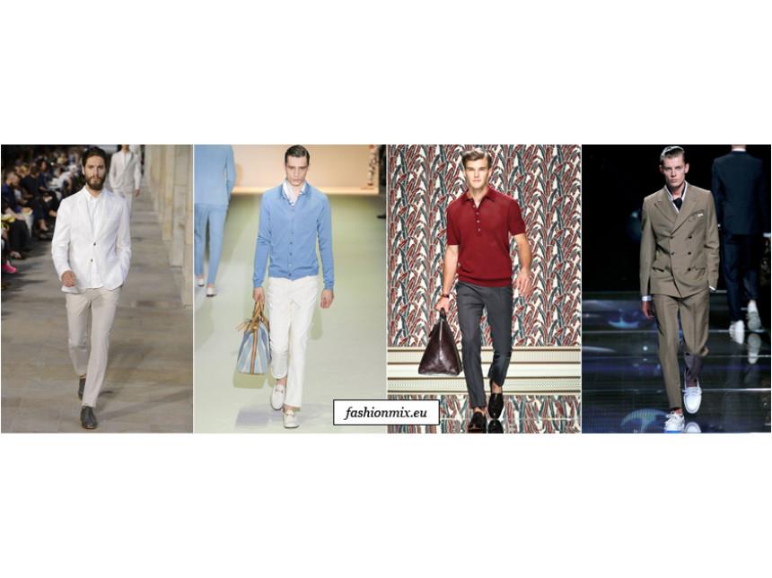 Мъжкият панталон за предостоящия сезон пролет/лято