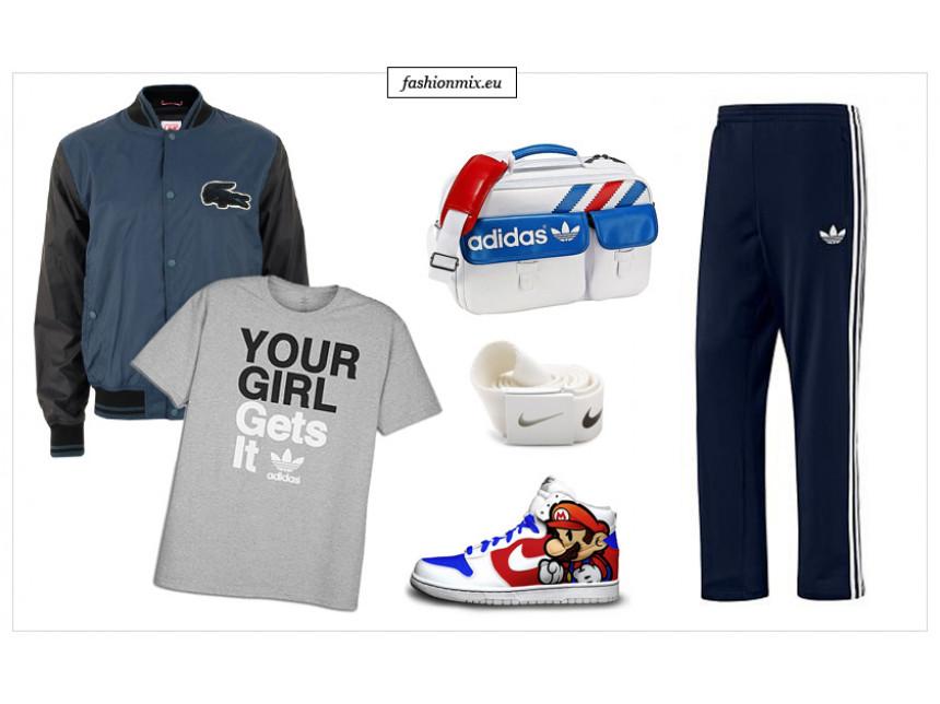 Оригиналните спортни дрехи, кецове и маратонки Nike, Puma, Adidas, Lacoste, Reebok и Le Coq Sportif идват при феновете на Fashionmix. Грабнете ваучер за 10 лв. отстъпка сега!